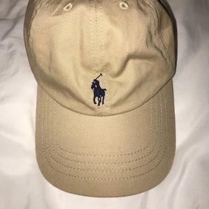 Tan Ralph Lauren Hat